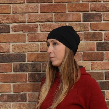 Merino čiapka Kremenec čierna