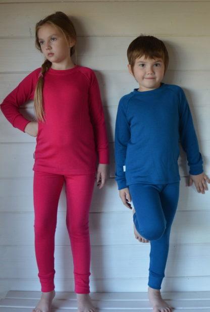 Detské oblečenie z merino vlny