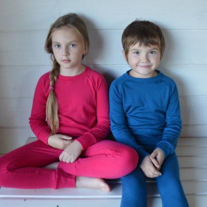 Detské spodné oblečenie z merino vlny