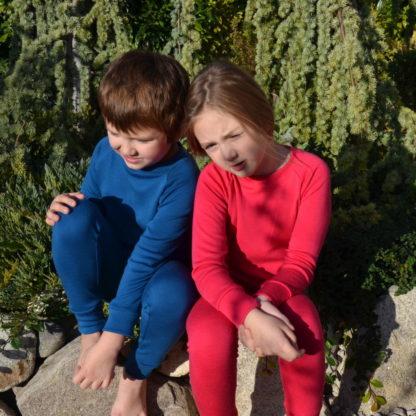 Detské funkčné oblečenie z merina