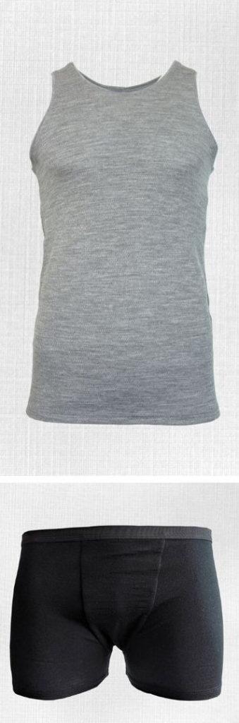 pánske merino spodné prádlo