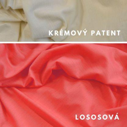 Merino Lososová - krémový patent