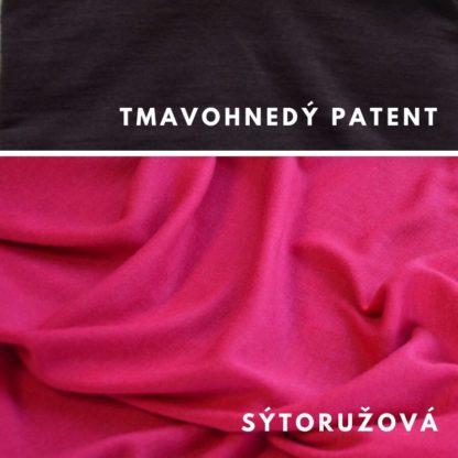 Sýtoružová - tmavohnedý patent