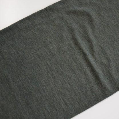 Všestranný merino nákrčník Okruhliak tmavoolivový melír