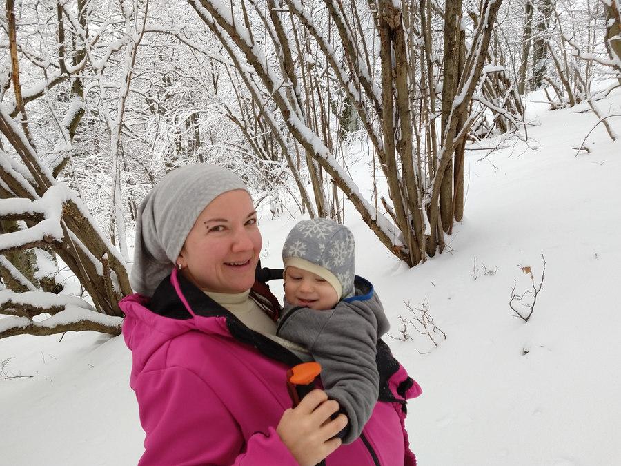 vrátna zimná turistika