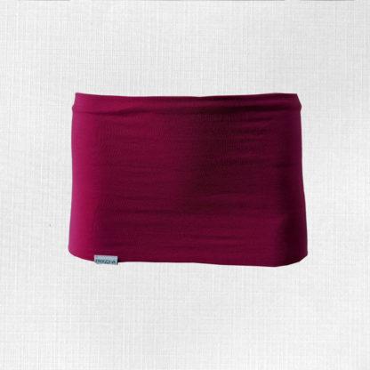 Bedrový pás z merino vlny Križiak - cyklámenová ružová