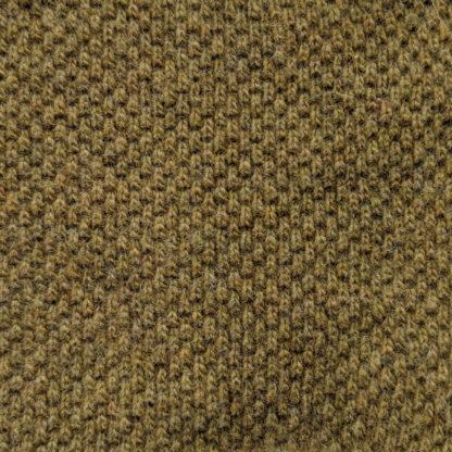 Teplé merino khaki olivová detail