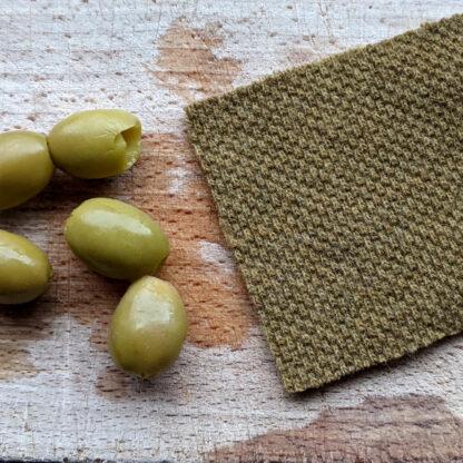 Khaki olivové merino hrubé