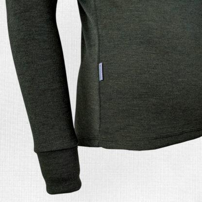 outdoor pánske tričko z merina detail