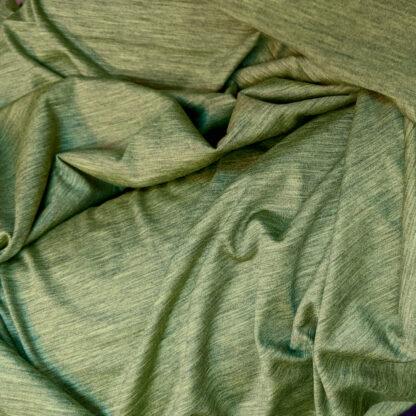 Merino 100% zelený melír 150g