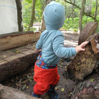 Detské rastúce merino body mentolové