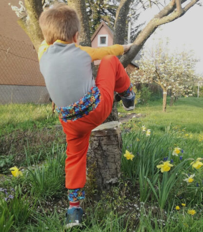 Merino softshell nohavice pre deti