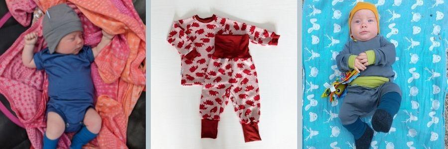 Merino oblečenie pre najmenších