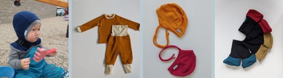 Oblečenie z merino vlny pre bábätká
