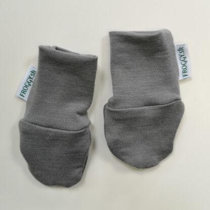 Merino rukavičky pre bábätká tenké