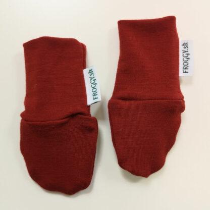 merino rukavičky tenké pre bábätka