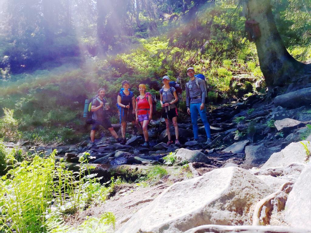 Potok po ceste na Mižiovu hoľu