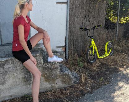 Pohodlné športové merino kraťasy