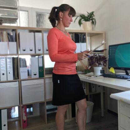 Univerzálna merino sukňa Kykula
