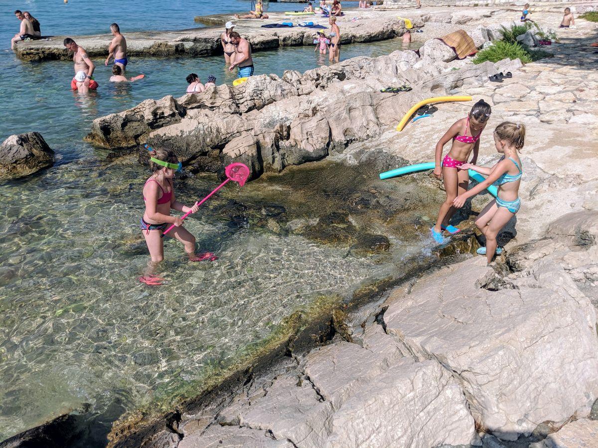Chorvátsko - Pakostane - kemp Kozarica