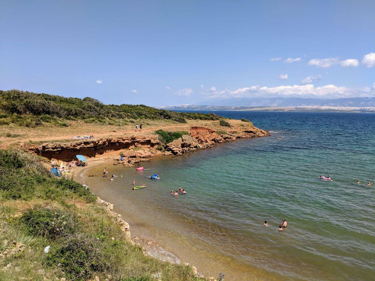 Chorvátsko - Vir - Red Beach