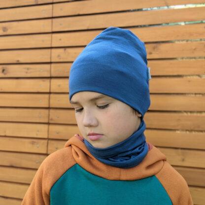 Elastická merino čiapka pre deti