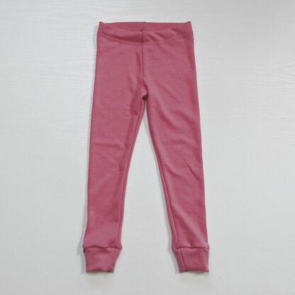 Detské rastúce merino spodky ružové
