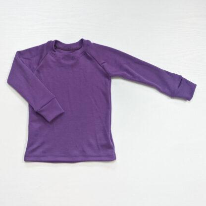 Hrubé tričko pre deti z merino vlny