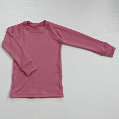 Termo tričko z merina pre deti