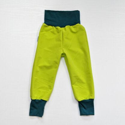 Detské nohavice softshell merino vlny